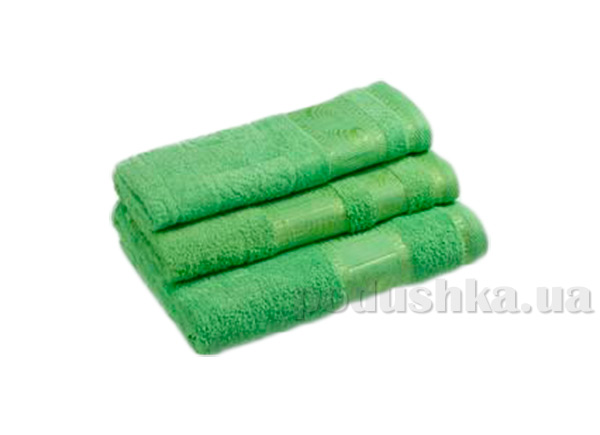 Махровое полотенце Португалия Shell салатовое