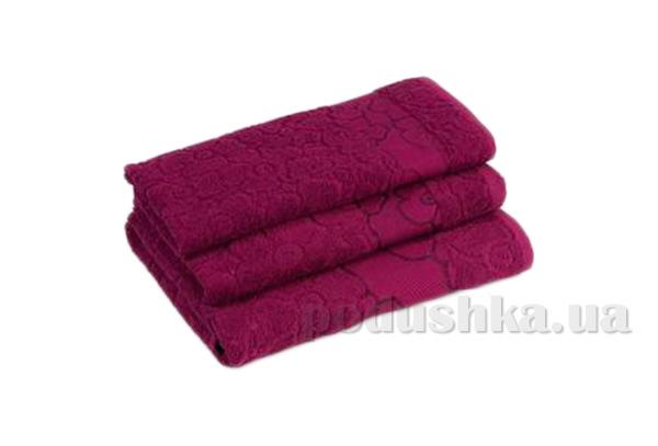 Махровое полотенце Португалия Viola бургунди