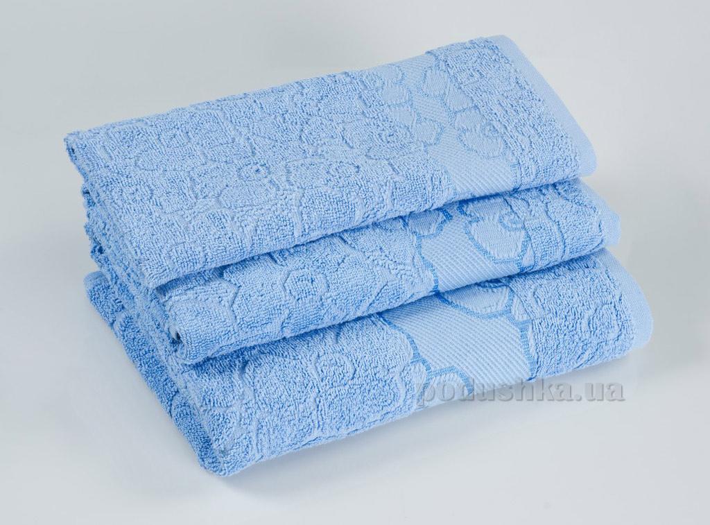 Махровое полотенце Португалия Viola голубое