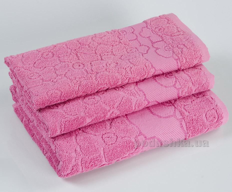 Махровое полотенце Португалия Viola розовое