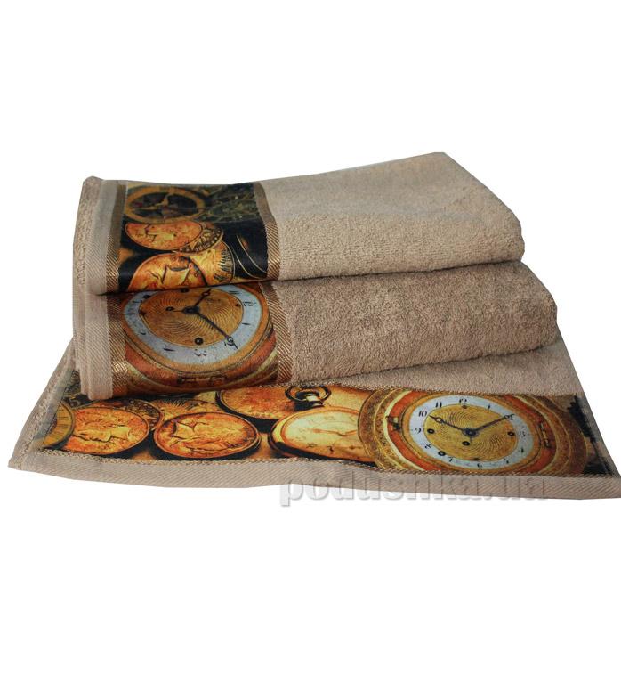 Махровое полотенце Романтика Антик песочное