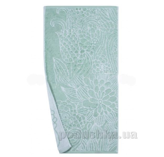 Махровое полотенце Романтика Иллюзия ментоловое