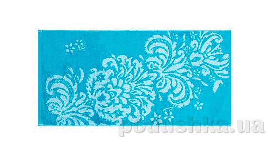 Махровое полотенце Романтика Версаль голубое