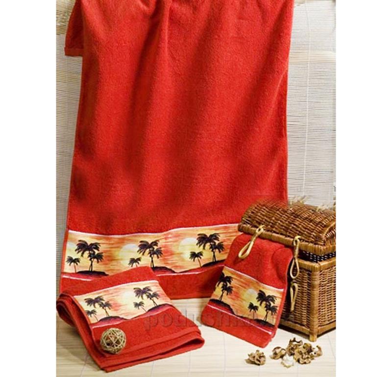 Махровое полотенце Романтика Ямайка
