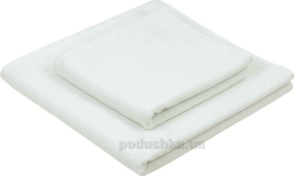 Махровое полотенце Руно 450 белое