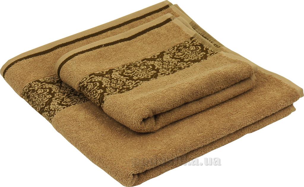 Махровое полотенце Руно 450 бежевое