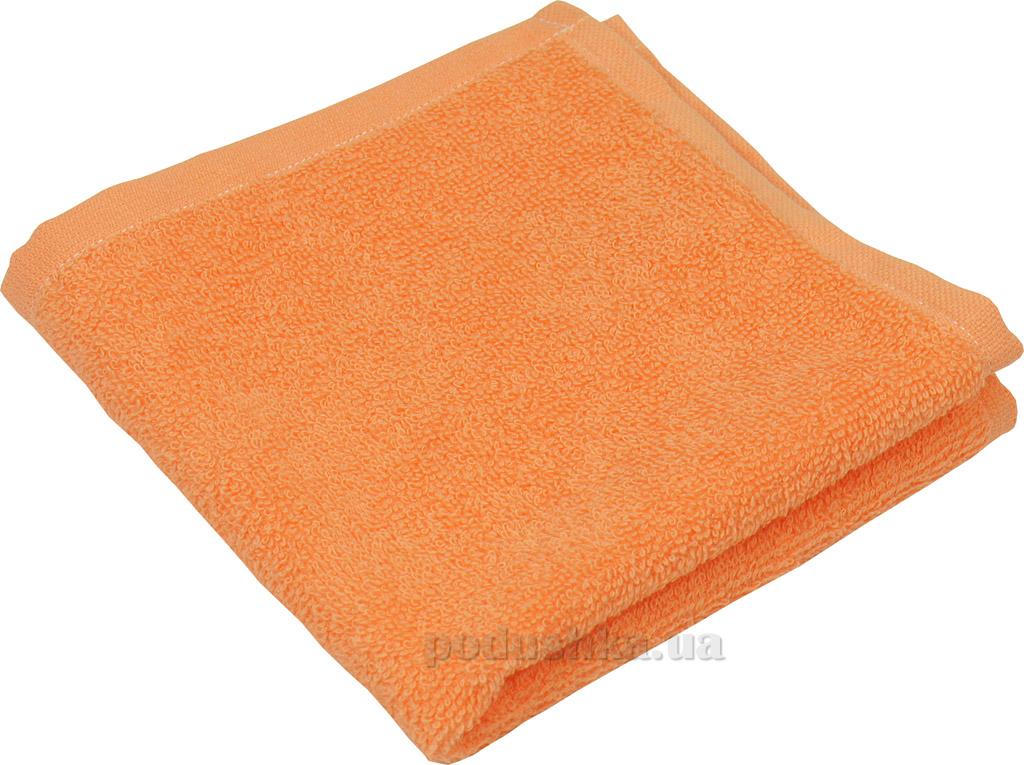 Махровое полотенце Руно 450 персиковое 30х30 см  Руно