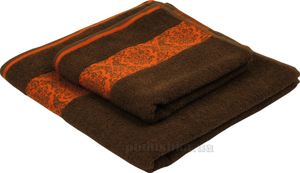 Махровое полотенце Руно 450 шоколад