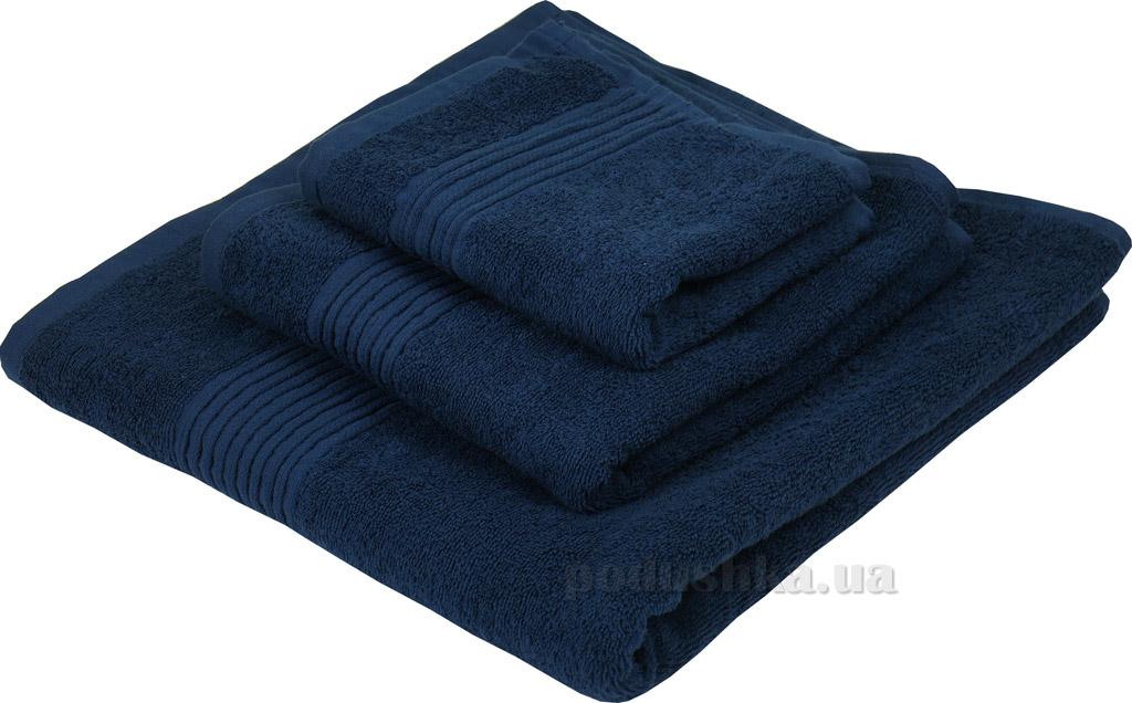 Махровое полотенце Руно 450 синее