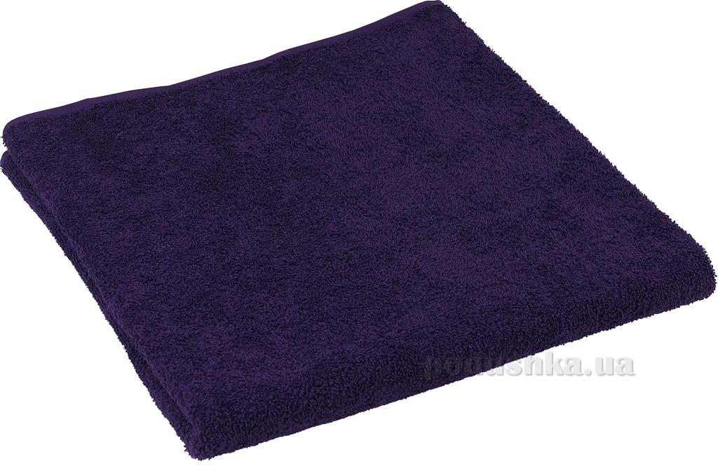 Махровое полотенце Руно фиолетовое