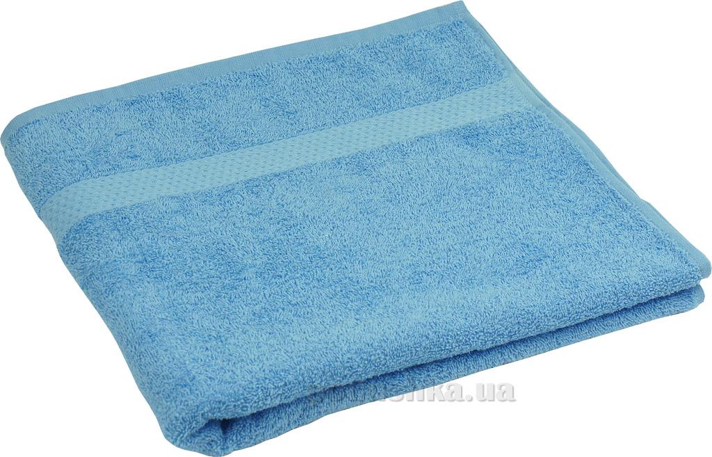 Махровое полотенце Руно 400 голубое