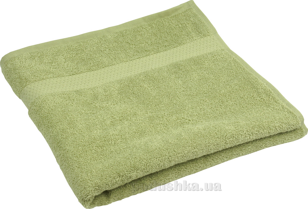 Махровое полотенце Руно оливковое