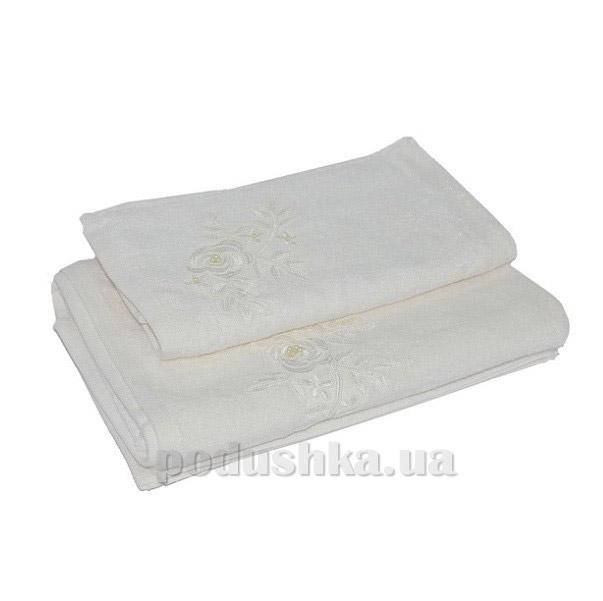 Махровое полотенце TAC Benin cream