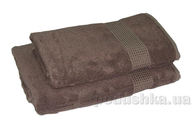 Махровое полотенце TAC Ellmore кофейное