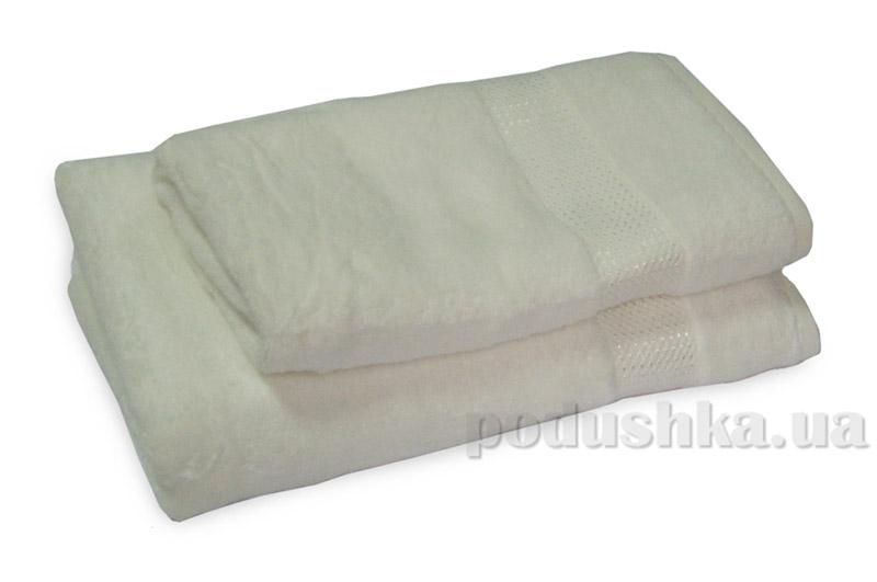 Махровое полотенце TAC Ellmore кремовое