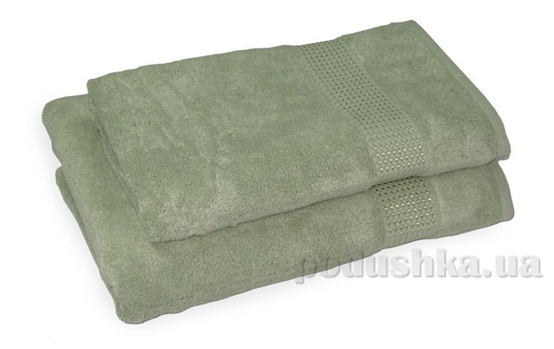 Махровое полотенце TAC Ellmore зеленое