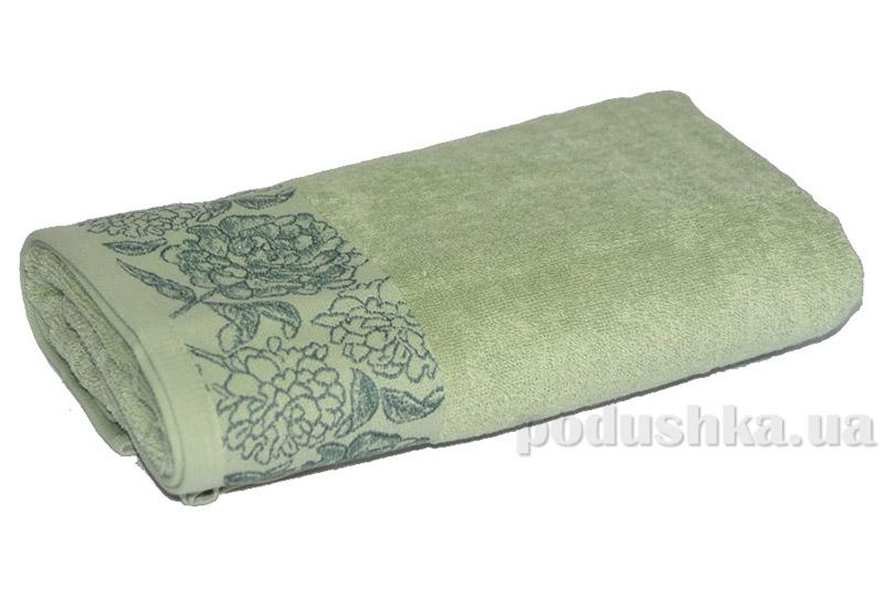 Махровое полотенце TAC Frape фисташковое
