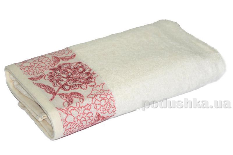 Махровое полотенце TAC Frape кремовое