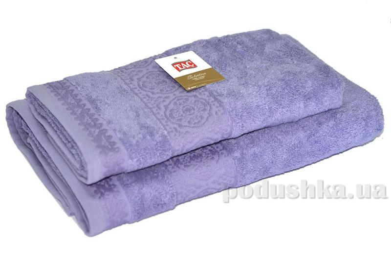 Махровое полотенце TAC Janti светло-сиреневое