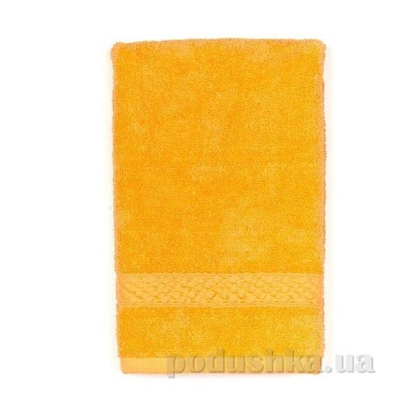 Махровое полотенце TAC Long Twist оранжевое