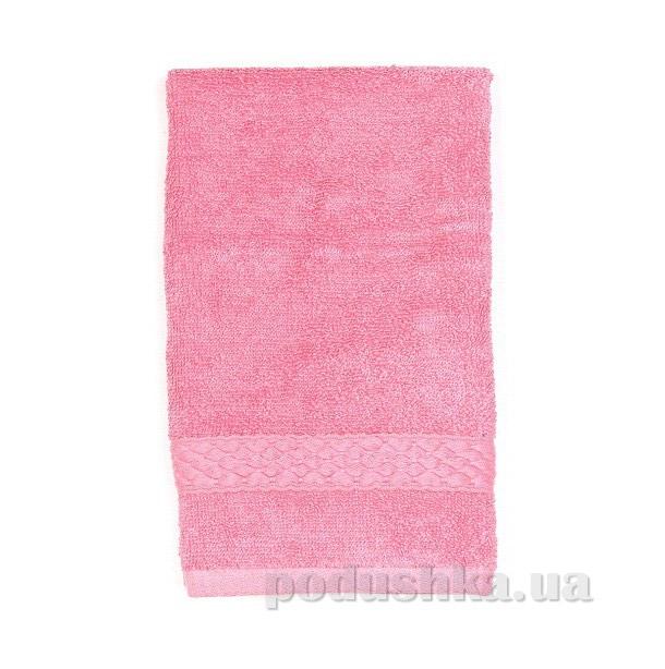 Махровое полотенце TAC Long Twist розовое