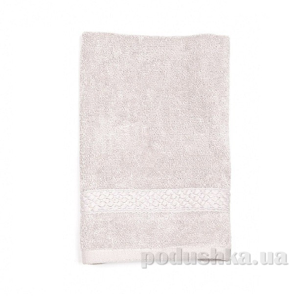 Махровое полотенце TAC Long Twist серое