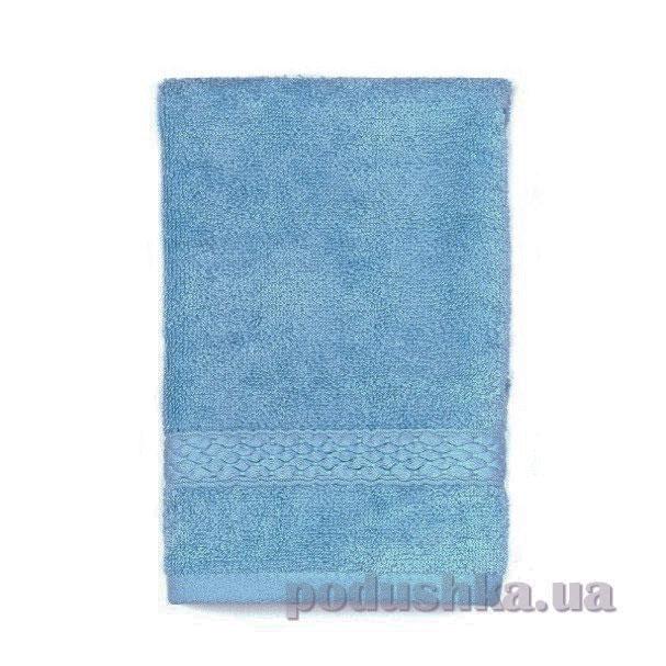 Махровое полотенце TAC Long Twist синее
