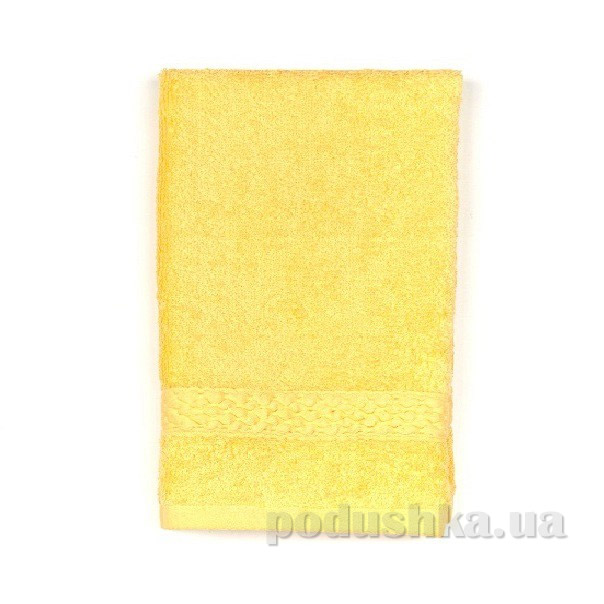 Махровое полотенце TAC Long Twist желтое