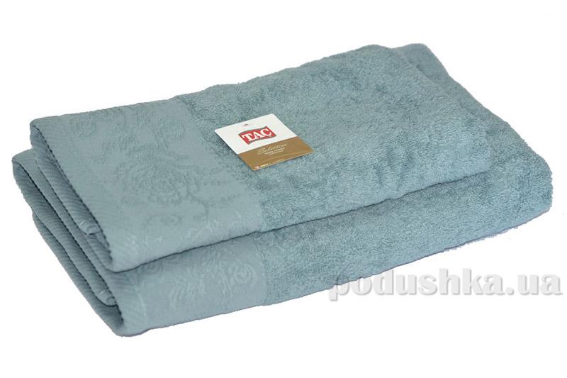 Махровое полотенце TAC Merry серебристо-голубое