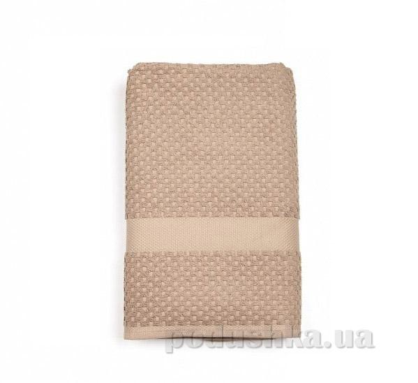 Махровое полотенце TAC Orion кофейное