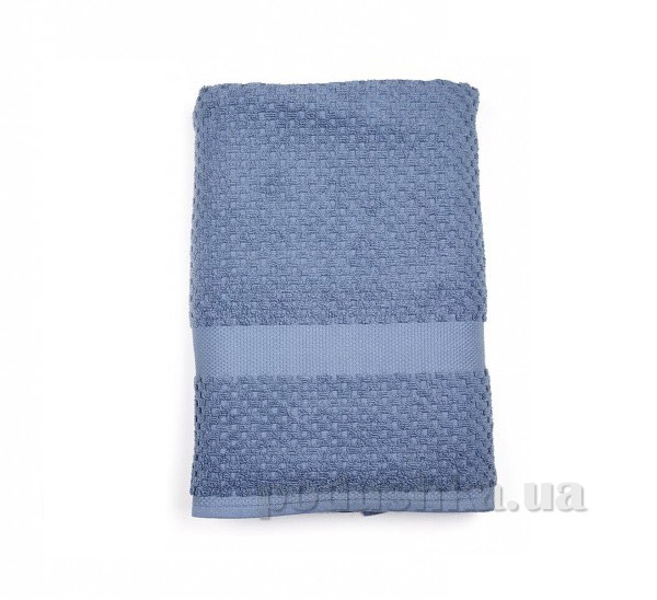 Махровое полотенце TAC Orion тёмно-синее