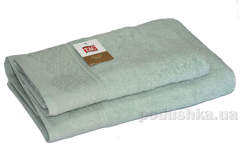 Махровое полотенце TAC Safran светло-зеленое