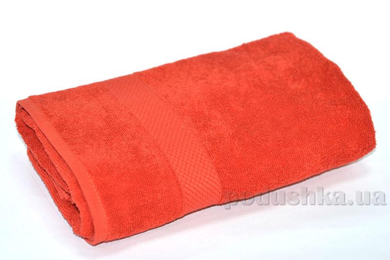 Махровое полотенце TAC Touchsoft терракотовое