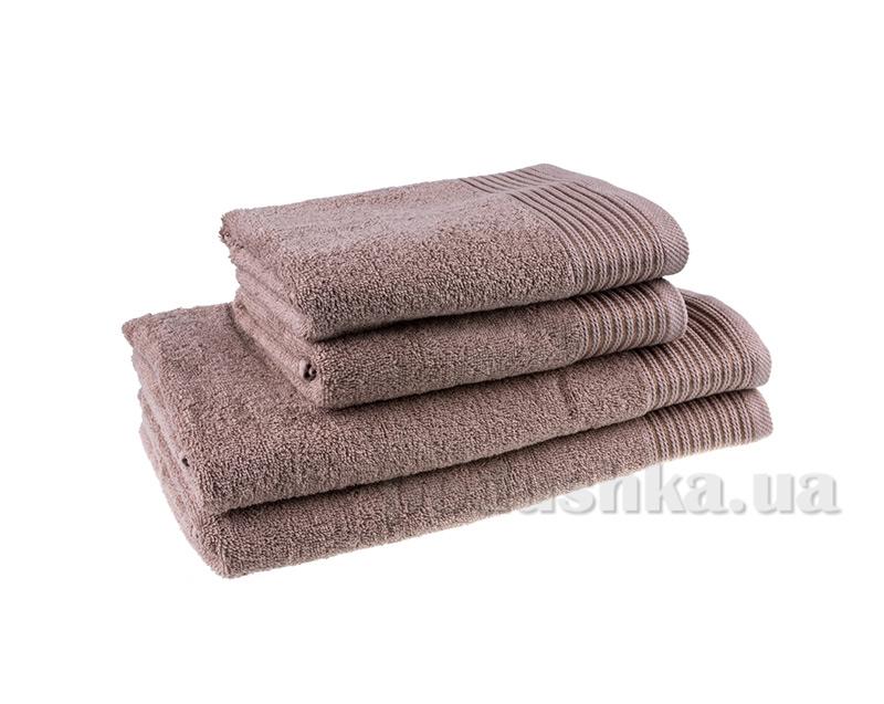 Махровое полотенце Terry Lux Эконом 400 капучино