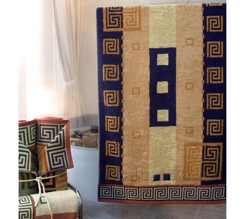Махровое полотенце Terry Lux Греческий бордюр
