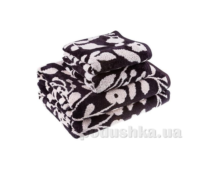 Махровое полотенце Terry Lux Хельга черное