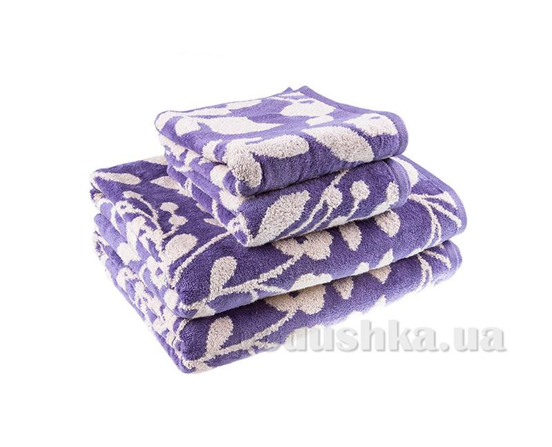 Махровое полотенце Terry Lux Хельга голубое