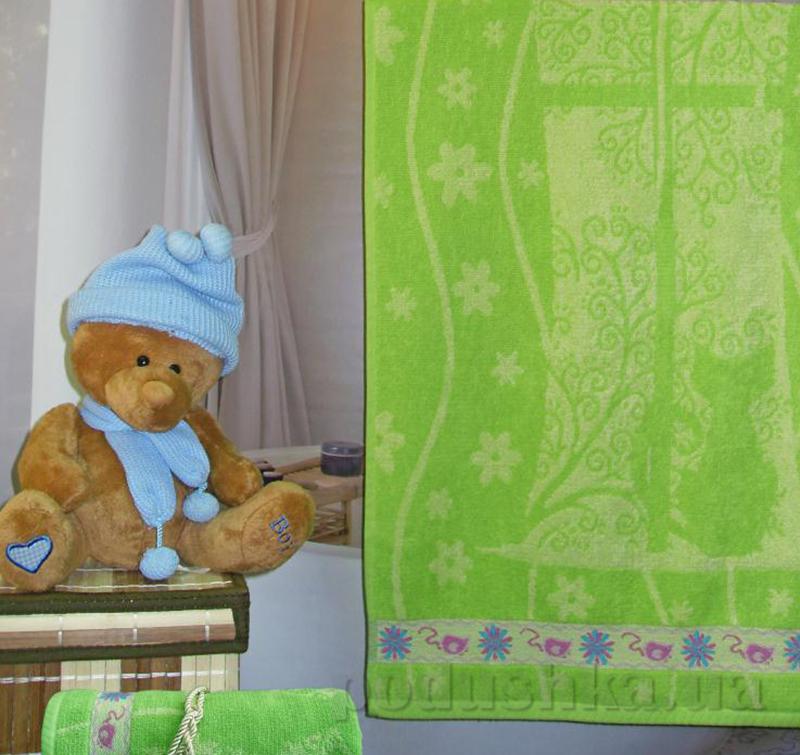Махровое полотенце Terry Lux Кошки-Мышки 50х90 см  Terry Lux