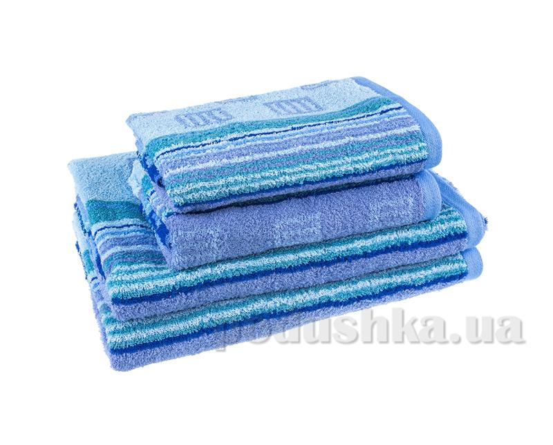 Махровое полотенце Terry Lux Мунтин голубое