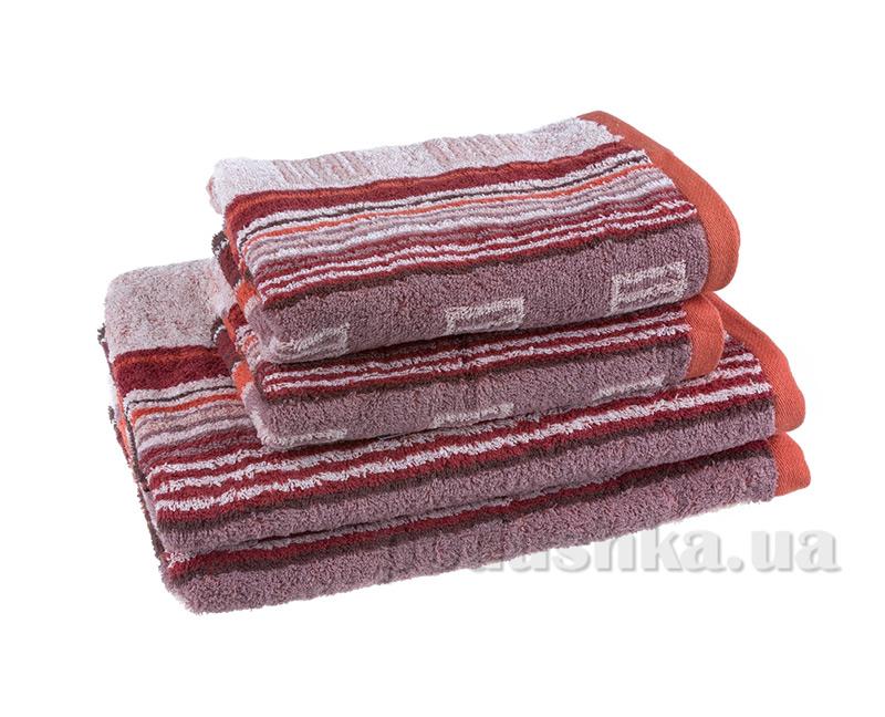 Махровое полотенце Terry Lux Мунтин терракотовое