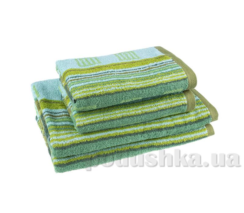 Махровое полотенце Terry Lux Мунтин зеленое