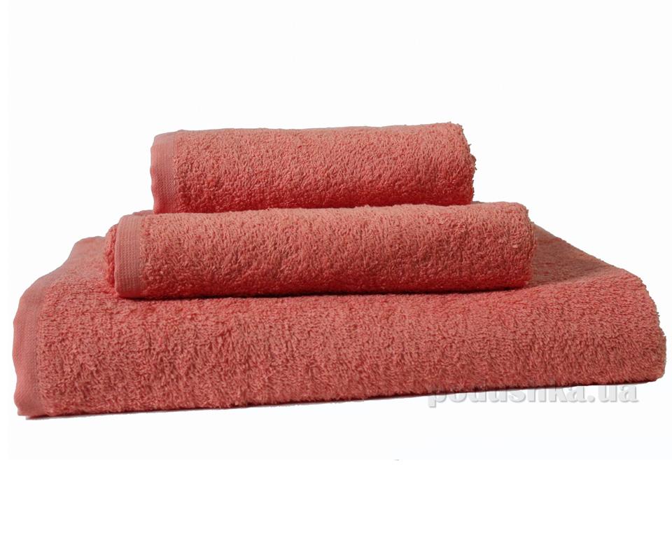 Махровое полотенце Зоряне сяйво Coral