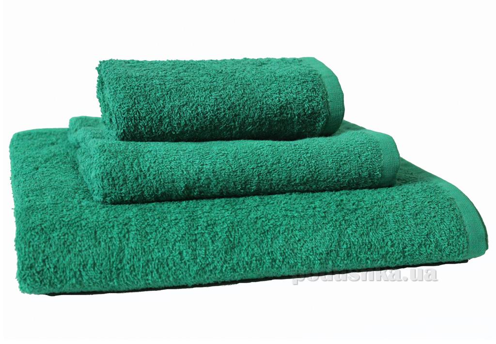 Махровое полотенце Зоряне сяйво Dark Green