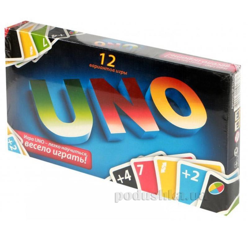 Малая настольная игра Uno Danko Toys SP-G11