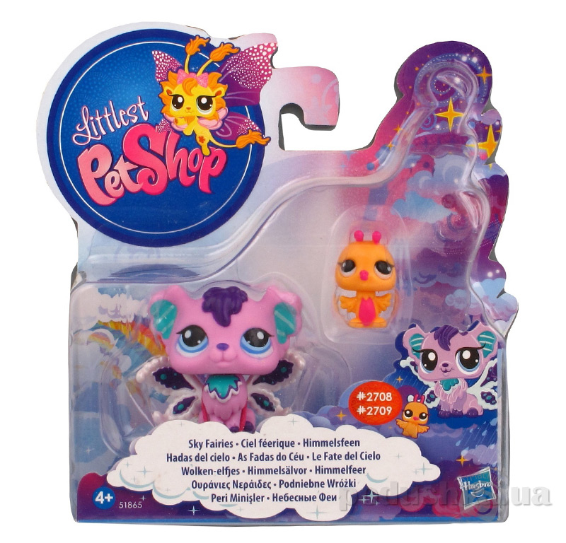 Маленький Зоомагазин Зверюшки-феи с друзьями Hasbro AKT-38867
