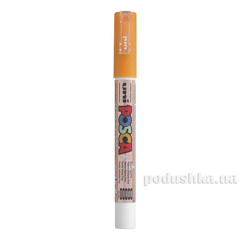 Маркер Uni Posca 0.9-1.3мм оранжевый PC-3M.Orange