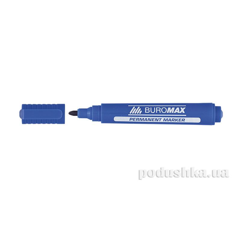 Маркер водостойкий синий Jobmax Buromax BM.8700-02