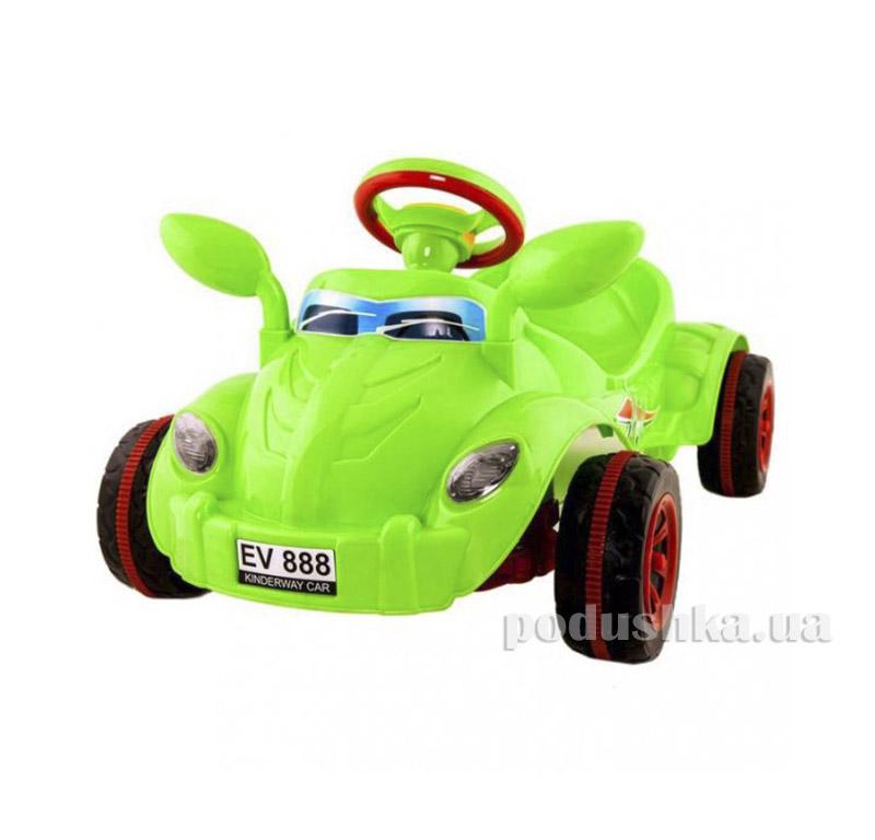 Машина педальная Kinderway Молния (09-903) Салатовая