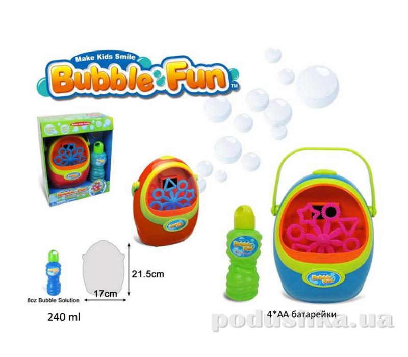 Машина по производству мыльных пузырей Bubble Fun