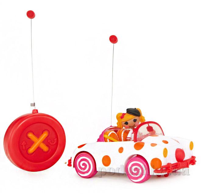 Машинка на радиоуправлении Белый Кабриолет серии Фокусляндия с куклой Мини Лалалупси 516903 Lalaloopsy